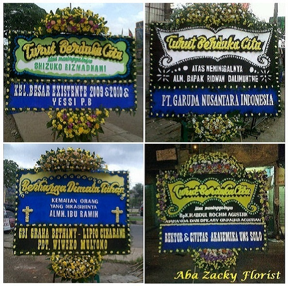 Karangan Bunga papan Murah Di Bekasi