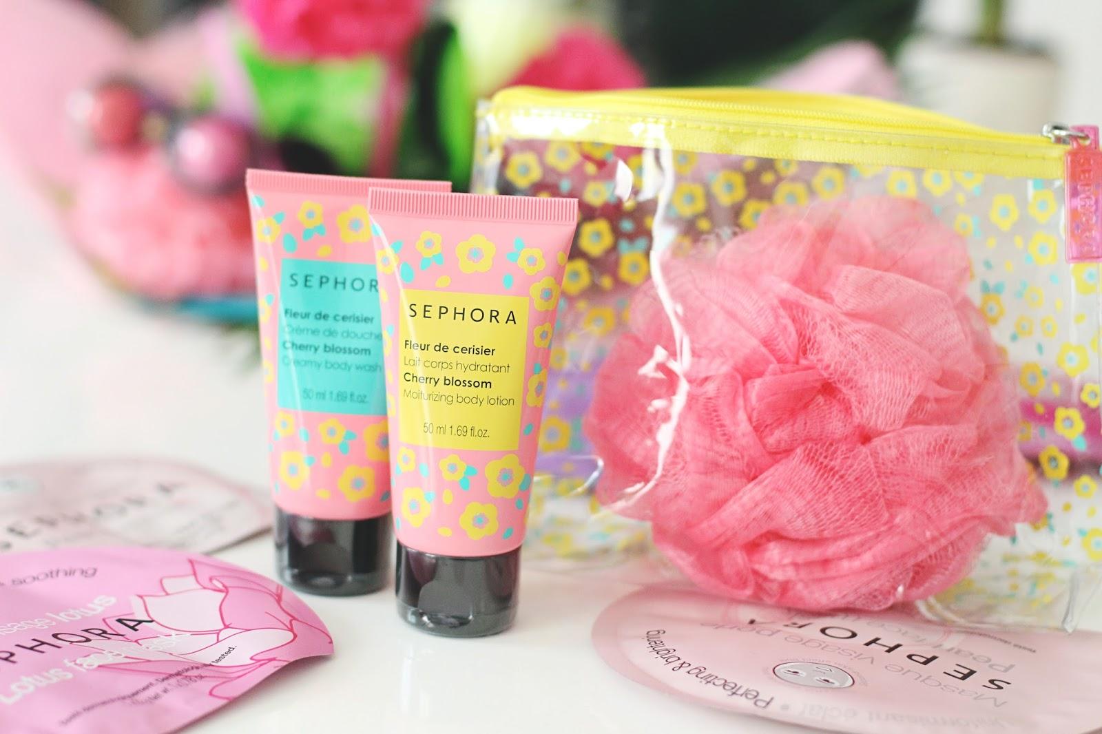 Gamme bain Sephora Fleur de Cerisier