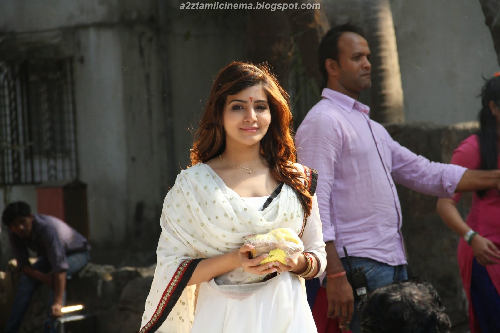 Kaththi movie vijay samantha hd images