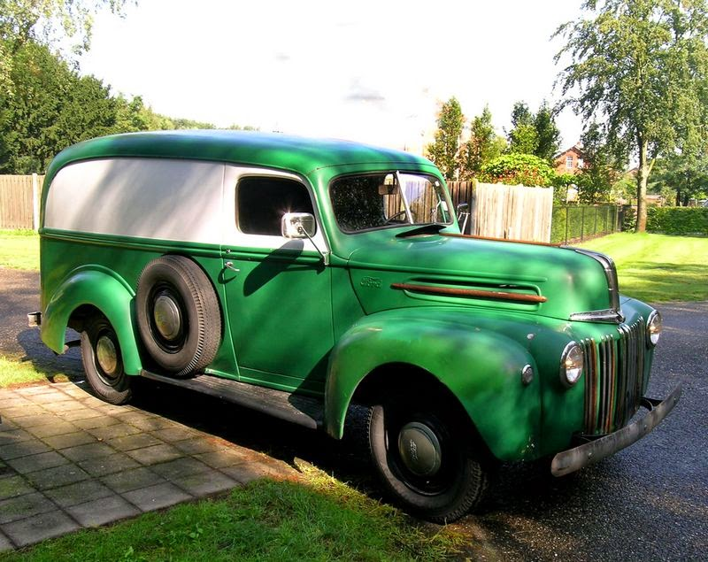 RodCityGarage 1947 Ford Panel Delivery Van