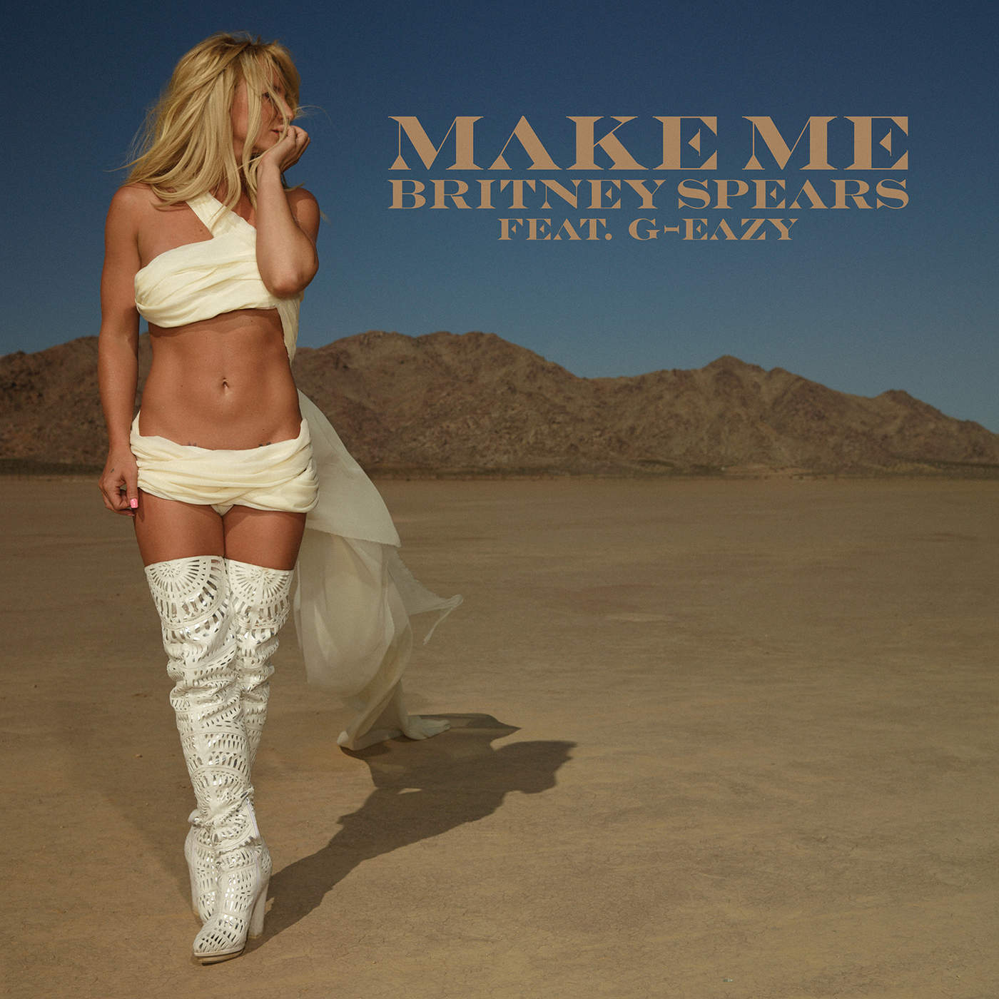Britney Spears - Make Me... (feat. G-Eazy) - Single Cover