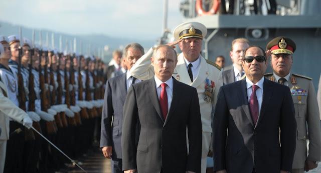 أسباب زيارة الرئيس الروسي بوتين إلى مصر 11 ديسمبر 2017
