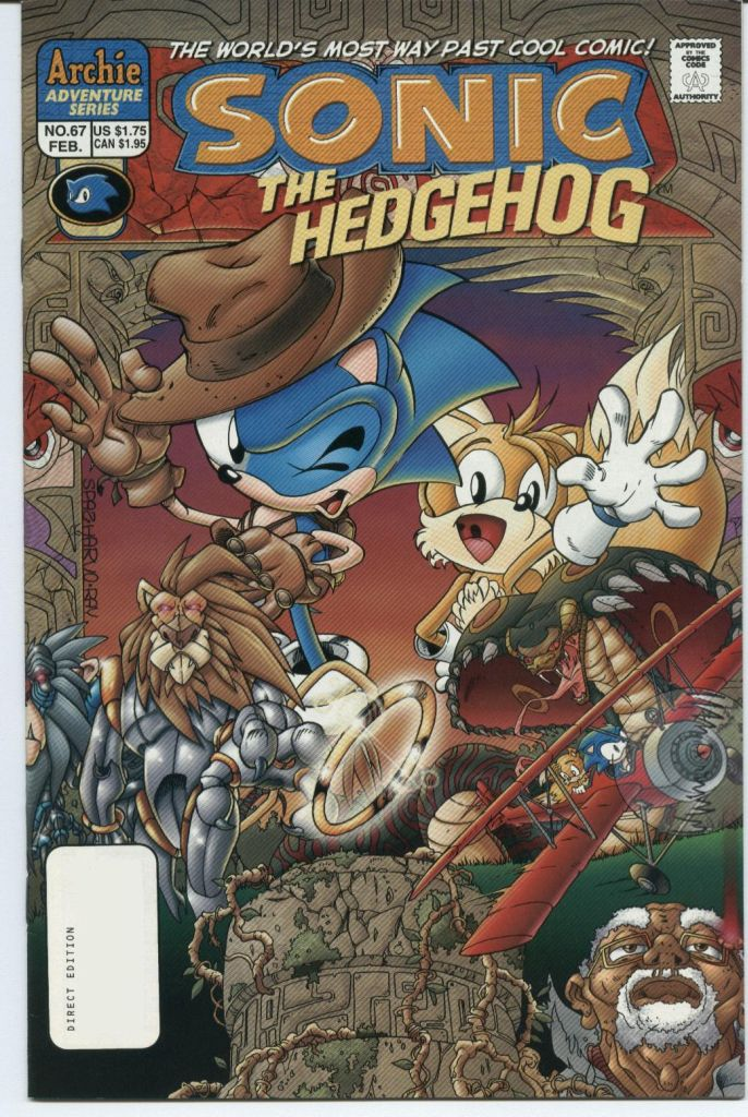 Sonic The Hedgehog (1993) 67 Page 1