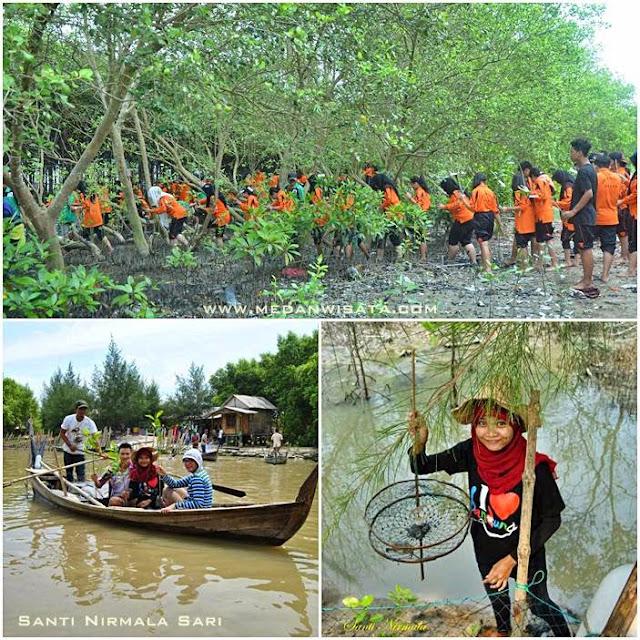 Wisata Mangrove Terpadu di Kampoeng Nipah Sumatera Utara