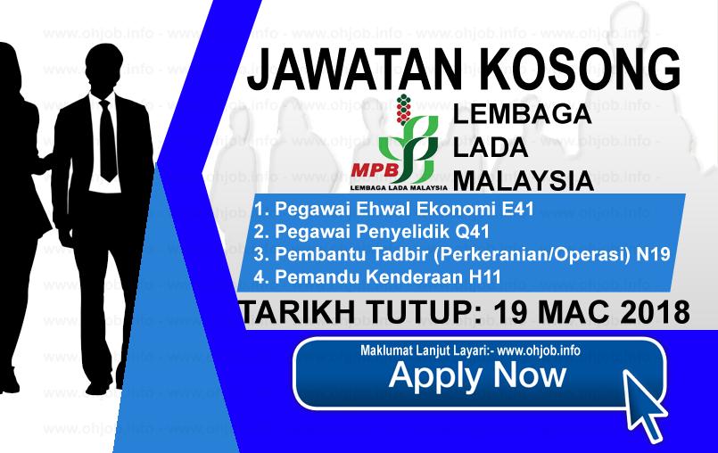 Jawatan Kerja Kosong MPB - Lembaga Lada Malaysia logo www.ohjob.info mac 2018