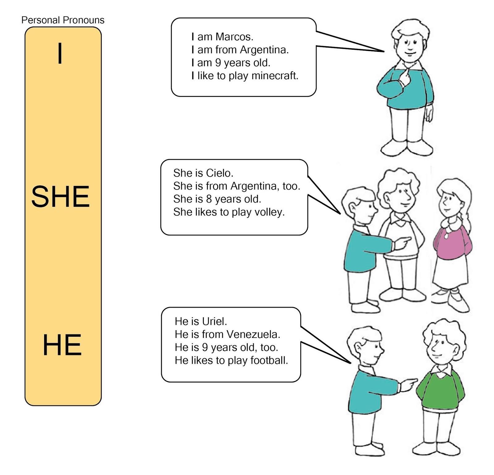 She He
