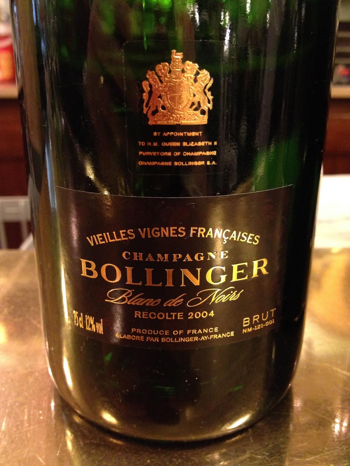 Soirée Bollinger au Petit Sommelier - Toutes les Bonnes Choses ont une Faim