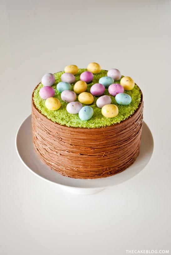 Easter Chocolate Cake Nigella