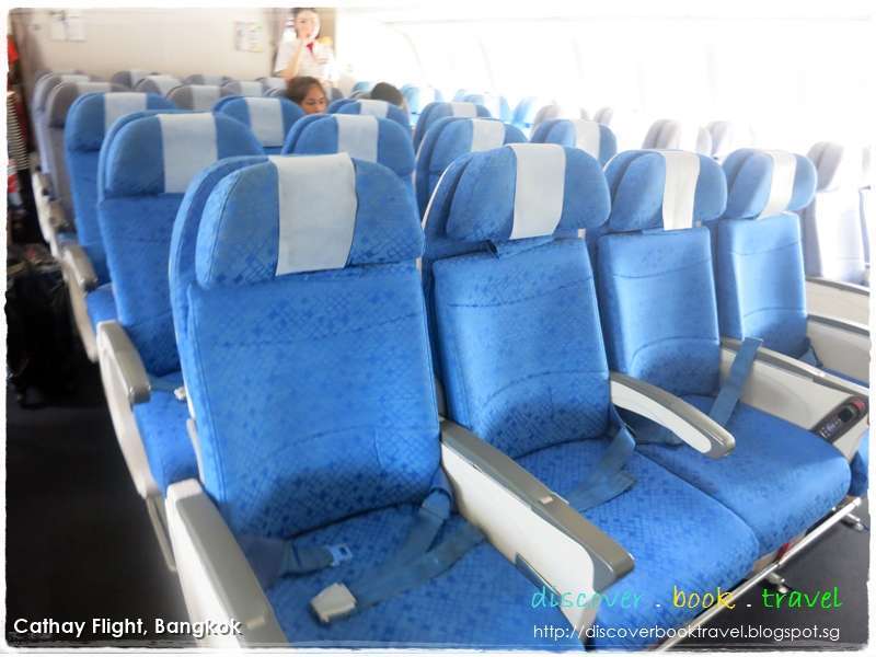 Airline Review Cathay Pacific Flight From Singapore To