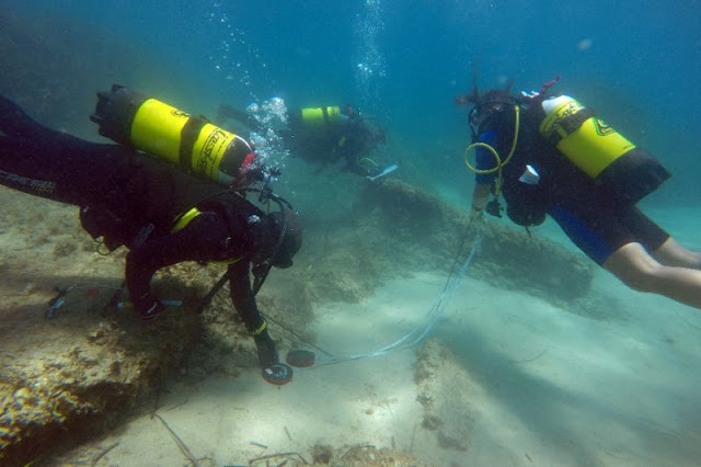 'Tsunami-sunk' Roman ruins discovered in Tunisia