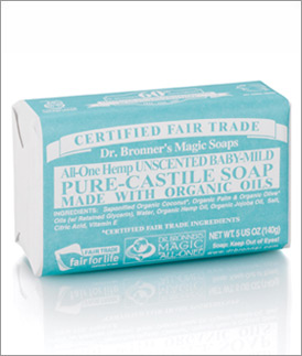 Dr Bronner Baby Mild Soap Review | Sensitive Skin Survival