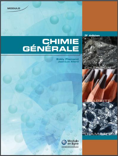 Livre : Chimie Générale PDF