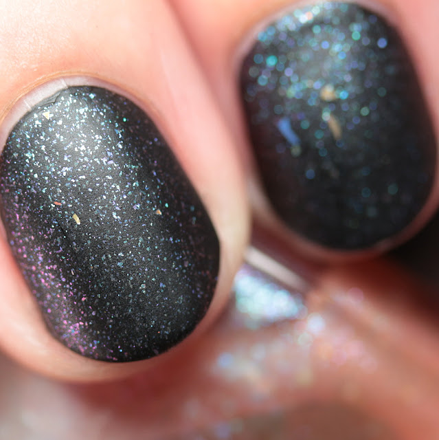 Bluebird Lacquer Dropping Hints over Dark Matter
