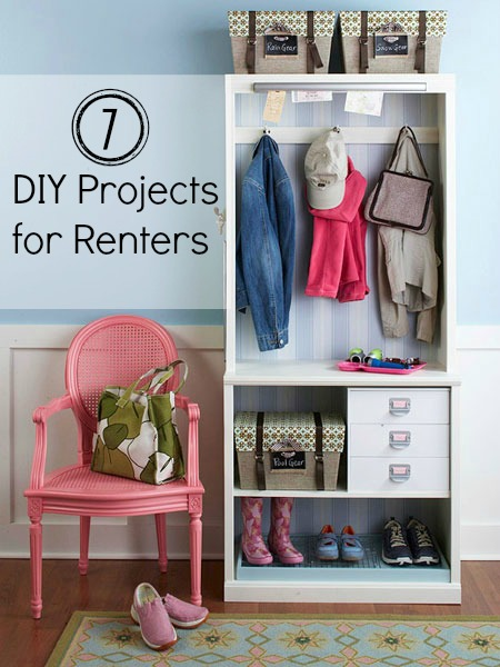 When You Live In A Al Face Many Challenges From Storage To Decorating Dealing With Tiny Es Here Are 7 Diy Projects That Provide Solutions