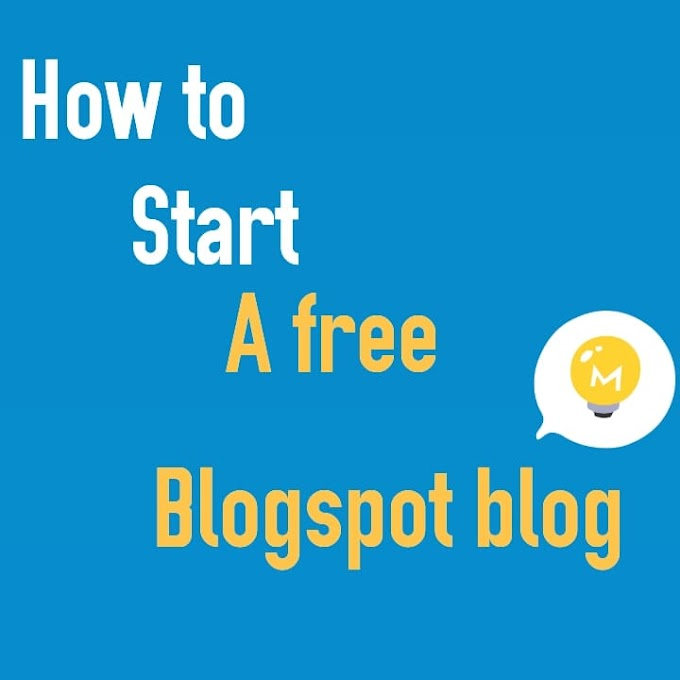 How to create a free blogger account in less than  20 Minutes