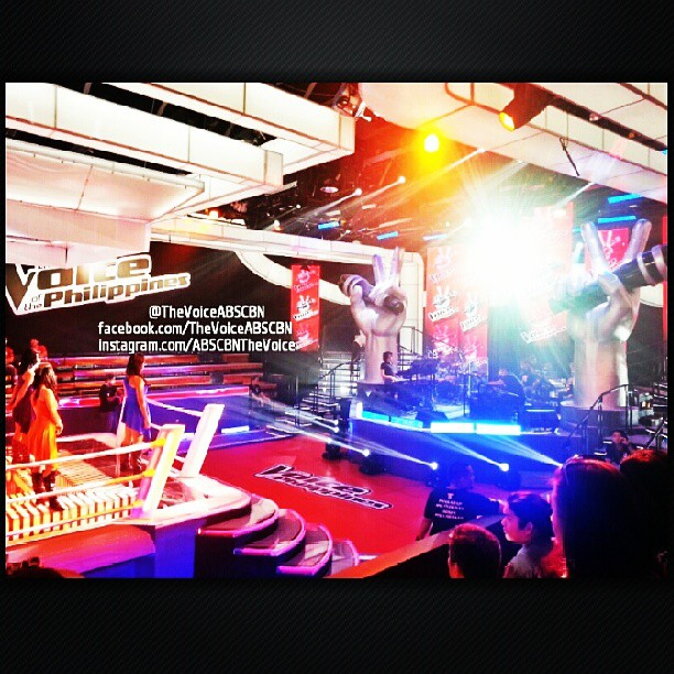 set of The Voice of the Philippines battle rounds