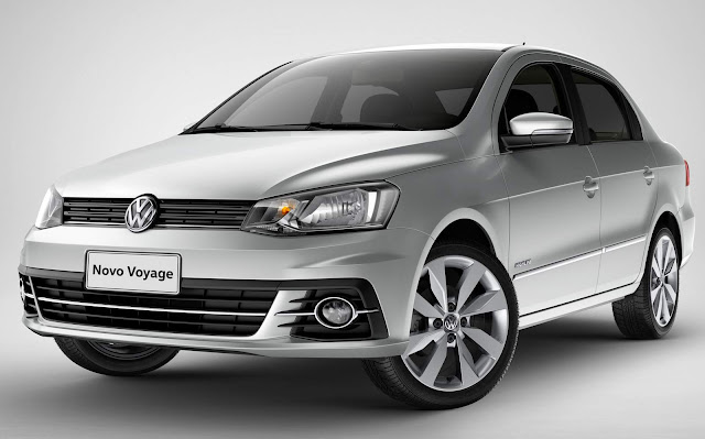 Novo VW Voyage 2017 - financiamento