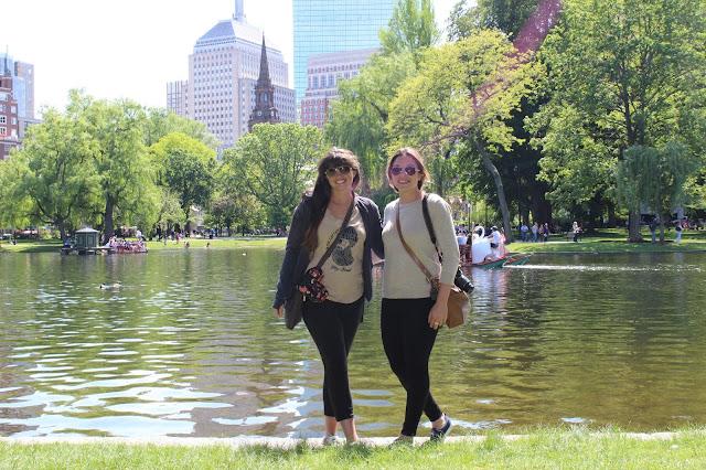 A walking tour of Boston