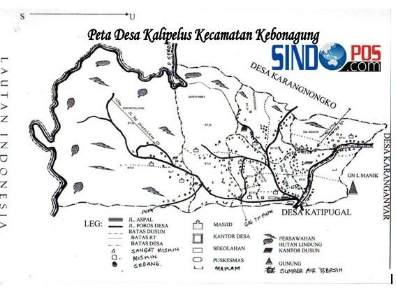 Profil Desa & Kelurahan, Desa Kalipelus Kecamatan Kebonagung Kabupaten Pacitan