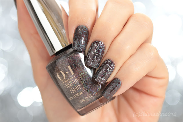 OPI My Private Jet, Moyou London Enchanted Collection-16, nail stamping, stamping nail, スタンピングネイル, ネイルスタンプ