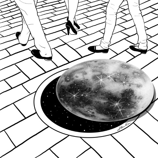 """Moonhole"" by Henn Kim 