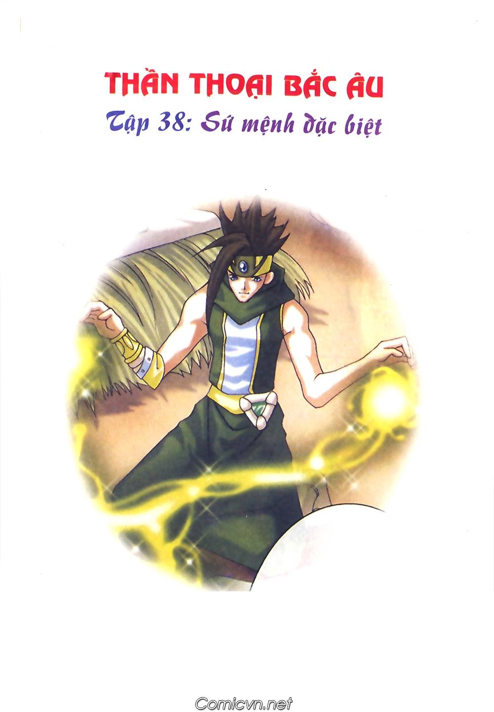 Thần thoại Bắc Âu - Chapter 38: Sứ mệnh đặc biệt - Pic 2