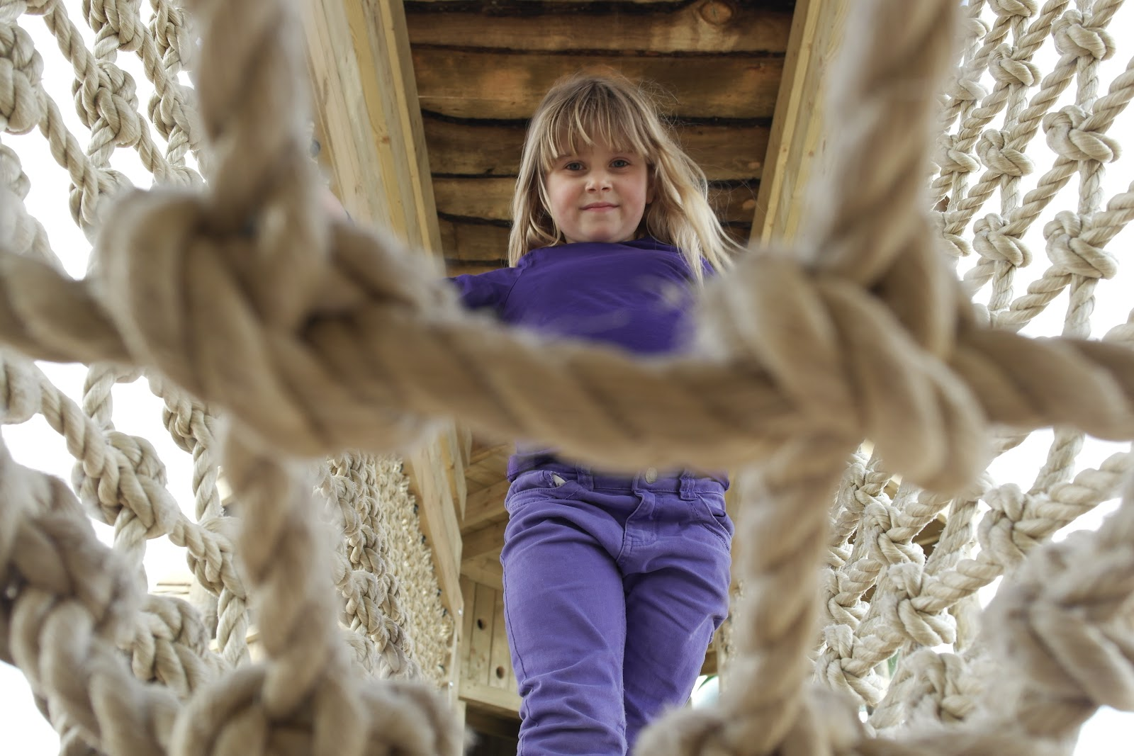 Topsy Turvey Towers at Mead Open Farm New Adventure Playground