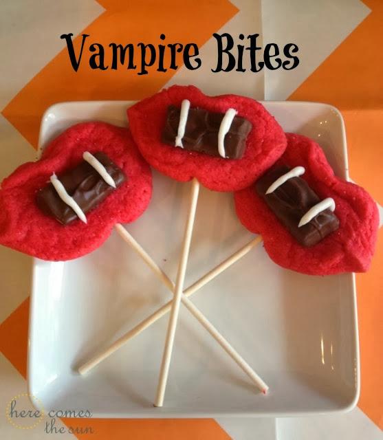 Vampire Bite Cookie Recipe #SpookyCelebration #shop