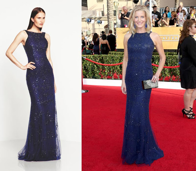 Anna Gunn in Monique Lhuillier – 2014 SAG Awards