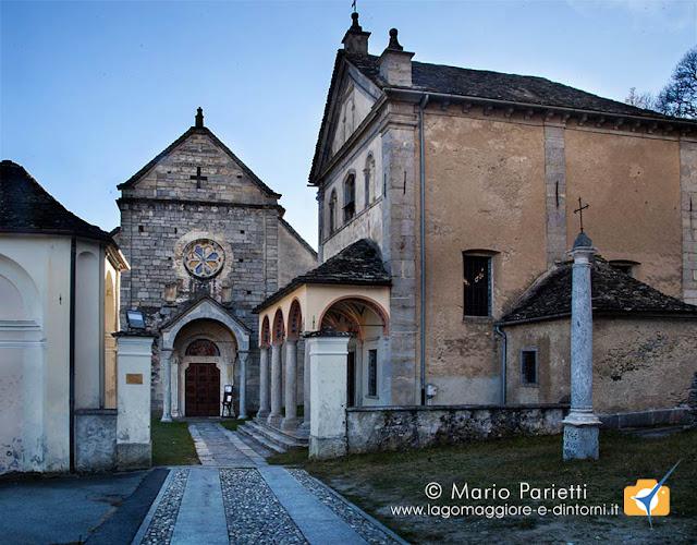 Chiesa di san Giulio a Cravegna: panoramica esterna