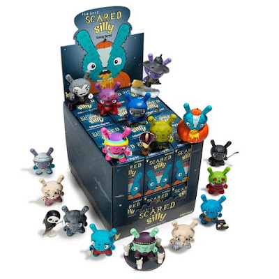 Scared Silly Dunny Blind Box Series by Jenn & Tony Bot x Kidrobot