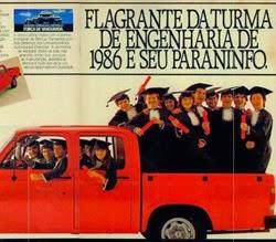 Propaganda da D-20 da Chevrolet, em 1986.