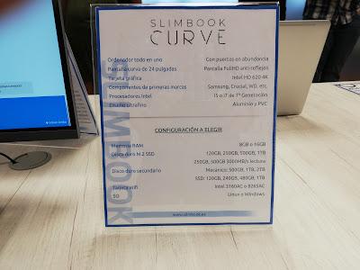 Especificaciones Slimbook Curve