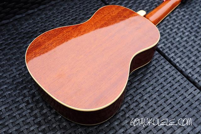 Fender Zuma Ukulele back