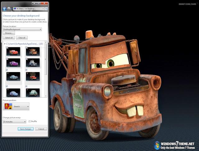 تحميل ثيم سيارات ويندوز 7 مجانا برابط مباشر