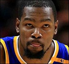 Kevin Durant é o quinto atleta mais bem pago de 2017