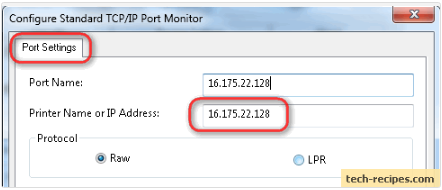 Find Ip Address for Network Printer