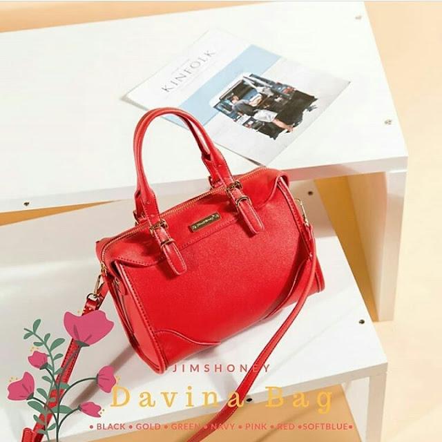 Jims Honey Davina Bag Red