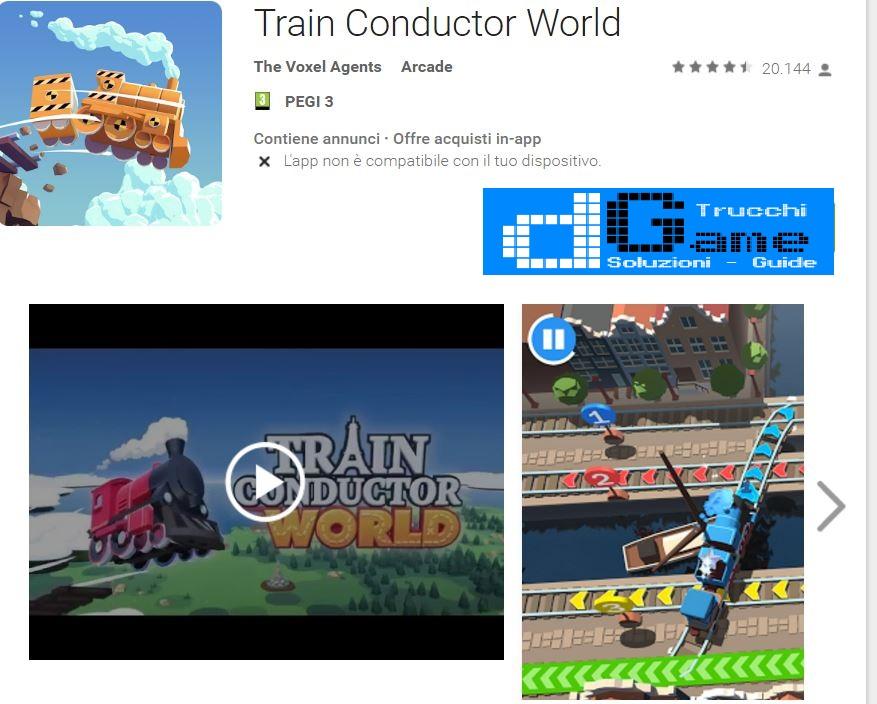 Trucchi Train Conductor World Mod Apk Android v1.10.3