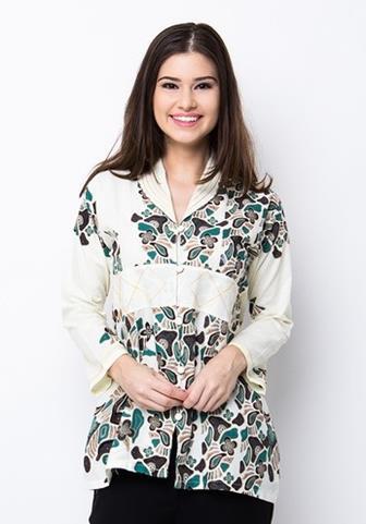 Baju Batik Kombinasi Populer
