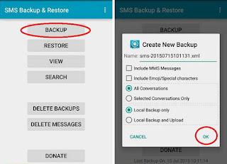 Cara Menjaga SMS Agar Tidak Hilang di Android