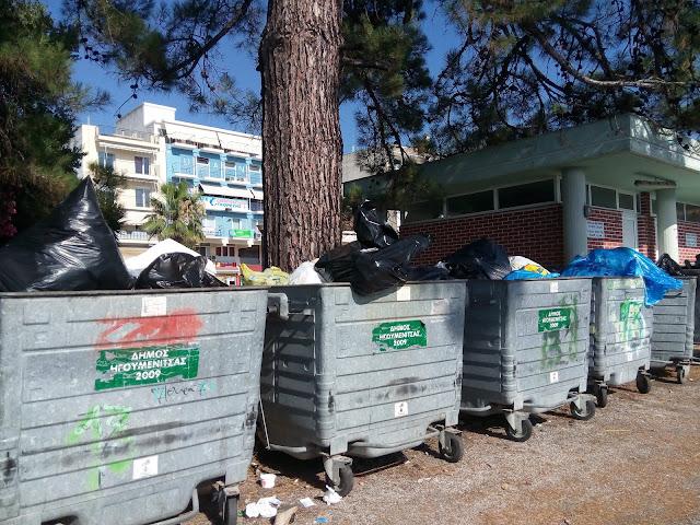 Δήμος Ηγουμενίτσας: Στους πολίτες πετάει την ευθύνη για τα σκουπίδια