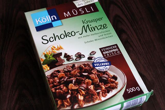 Kölln Müsli - Knusper Schoko-Minze