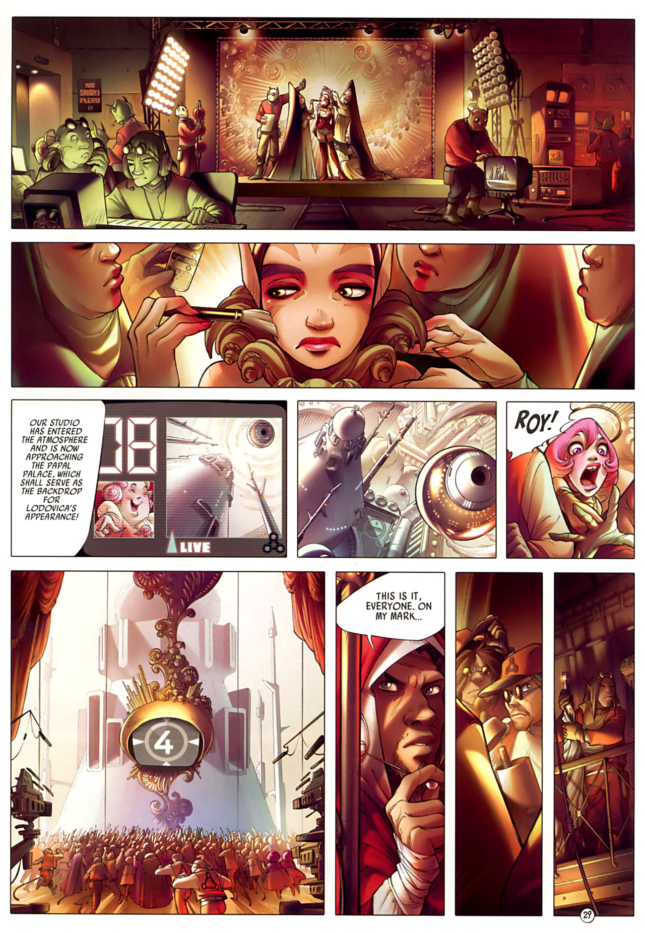 Read online Sky Doll comic -  Issue #3 - 33