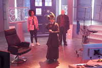 missy, bill, nardole, Doctor Who series 10 episode 11: World Enough and Time.