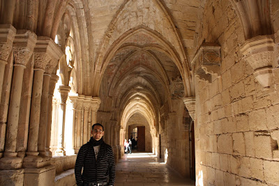 Cloister of Poblet monastery