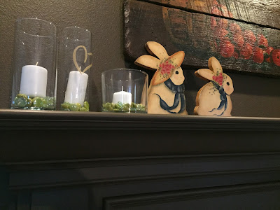#millsnewhouse, spring decorating, Easter decorating