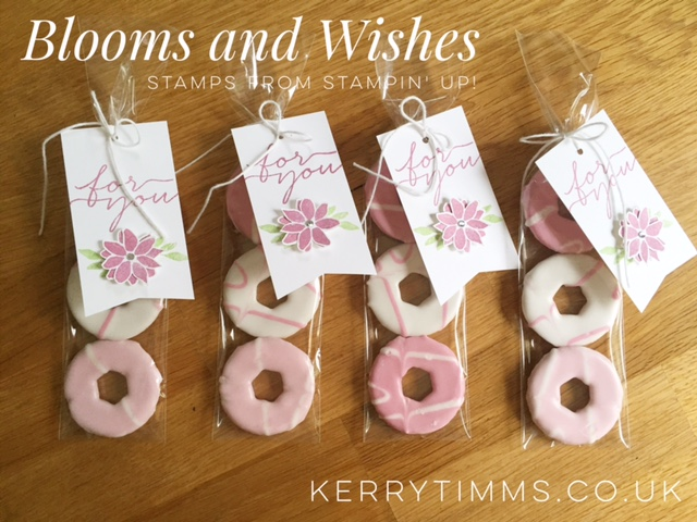 blooms and wishes stamps kerry timms stampin up handmade card card making scrapbook memories creative papercraft craft crafts create class gloucester flowers wedding favour treat
