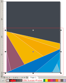 Cara Membuat Desain Cover Buku dengan CorelDRAW X4, cara menghilangkan out line