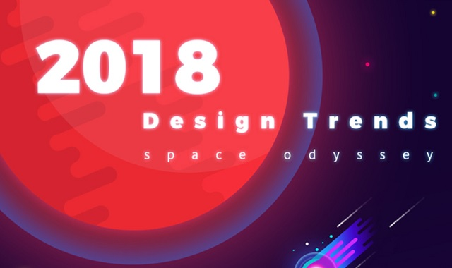 Design Trends 2018 Welcome To Space Odyssey